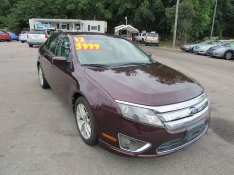 2012 Ford Fusion for sale at Auto Bella Inc. in Clayton NC