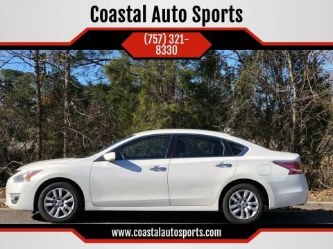 2014 Nissan Altima for sale at Coastal Auto Sports in Chesapeake VA