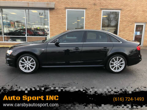 2014 Audi A4 for sale at Auto Sport INC in Grand Rapids MI