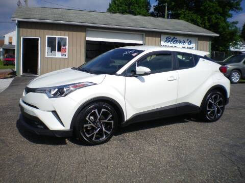 2019 Toyota C-HR for sale at Starrs Used Cars Inc in Barnesville OH