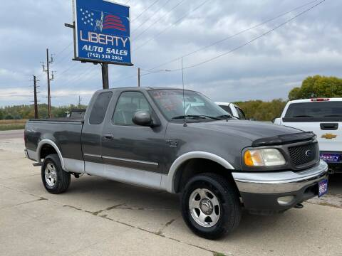 2002 Ford F-150 for sale at Liberty Auto Sales in Merrill IA