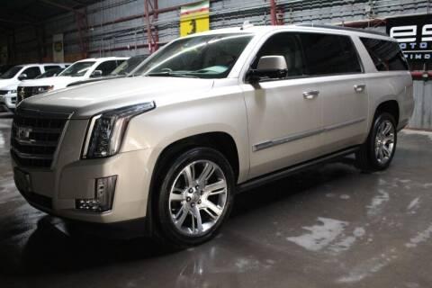 2015 Cadillac Escalade ESV for sale at ESPI Motors in Houston TX