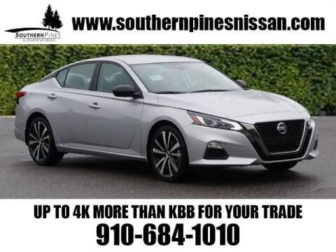 2021 Nissan Altima for sale at PHIL SMITH AUTOMOTIVE GROUP - Pinehurst Nissan Kia in Southern Pines NC