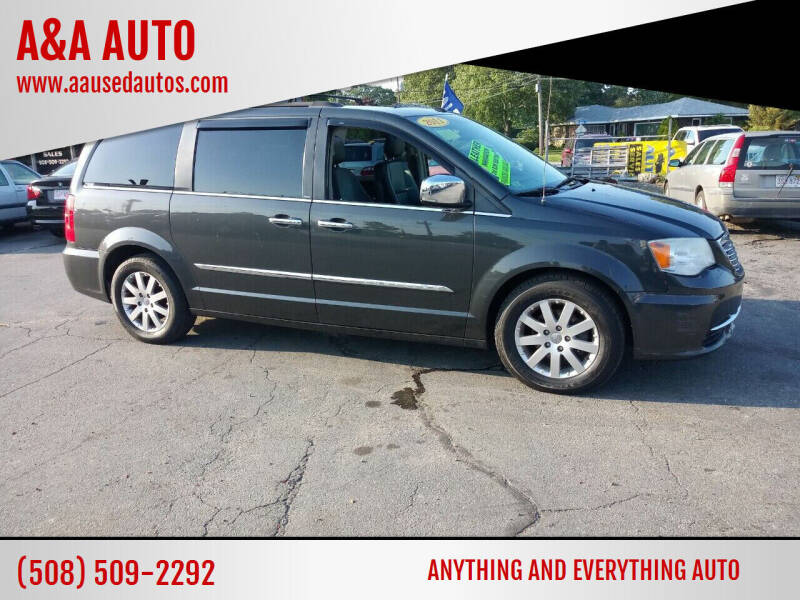 2011 Chrysler Town and Country for sale at A&A AUTO in Fairhaven MA