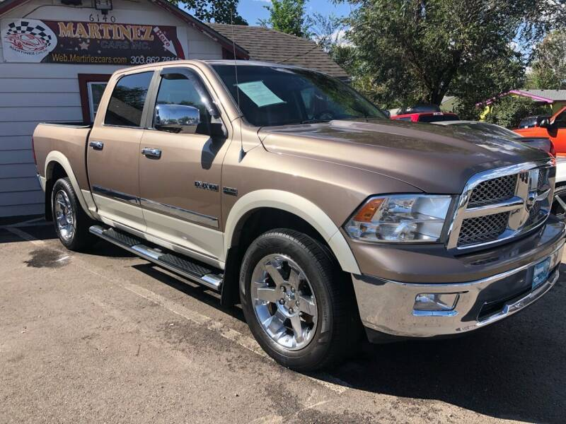 2009 Dodge Ram Pickup 1500 4x4 Laramie 4dr Crew Cab 5.5 ft. SB - Lakewood CO