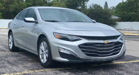 2021 Chevrolet Malibu for sale at Guru Auto Sales in Miramar FL