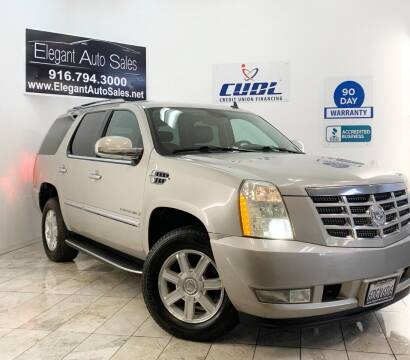 2008 Cadillac Escalade for sale at Elegant Auto Sales in Rancho Cordova CA