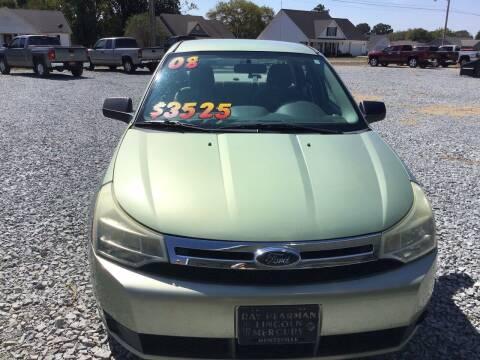 2008 Ford Focus for sale at K & E Auto Sales in Ardmore AL