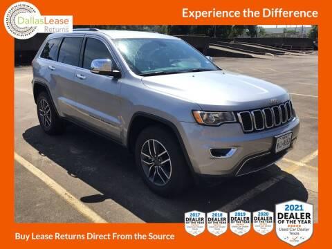 2019 Jeep Grand Cherokee for sale at Dallas Auto Finance in Dallas TX