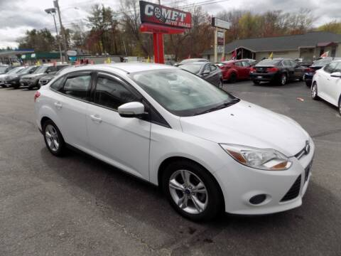 2014 Ford Focus for sale at Comet Auto Sales in Manchester NH