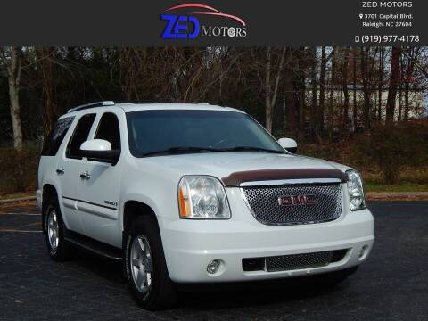 2008 GMC Yukon for sale at Zed Motors in Raleigh NC
