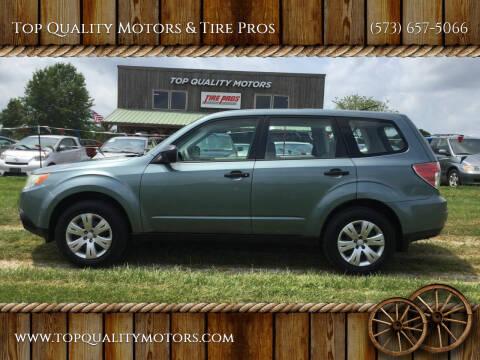2009 Subaru Forester for sale at Top Quality Motors & Tire Pros in Ashland MO