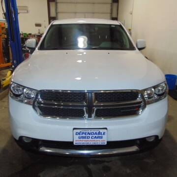 2013 Dodge Durango for sale at Dependable Used Cars in Anchorage AK