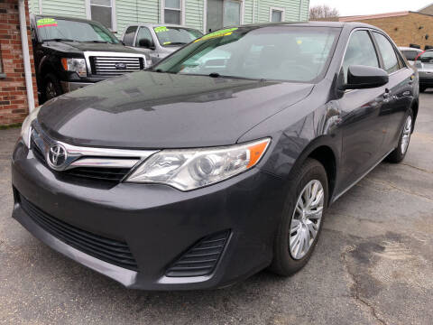 2012 Toyota Camry for sale at Commercial Street Auto Sales in Lynn MA