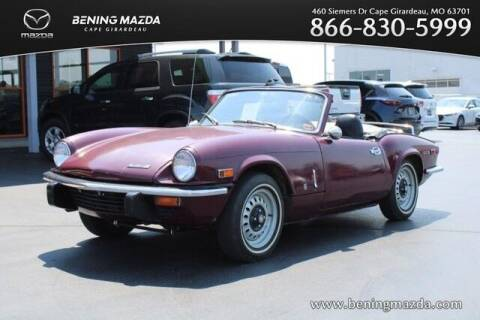 1972 Triumph SPITFIRE IV for sale at Bening Mazda in Cape Girardeau MO