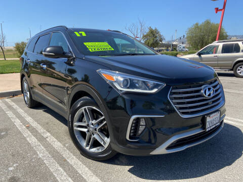 2017 Hyundai Santa Fe for sale at Affordable Auto Solutions in Wilmington CA