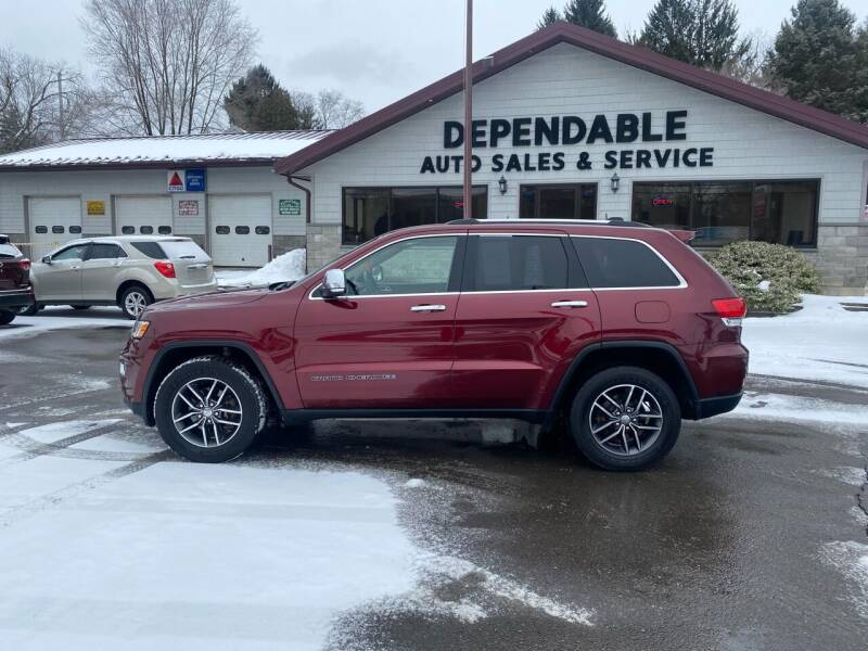 2018 Jeep Grand Cherokee for sale at Dependable Auto Sales and Service in Binghamton NY