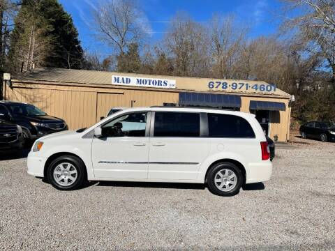 2012 Chrysler Town and Country for sale at Mad Motors LLC in Gainesville GA