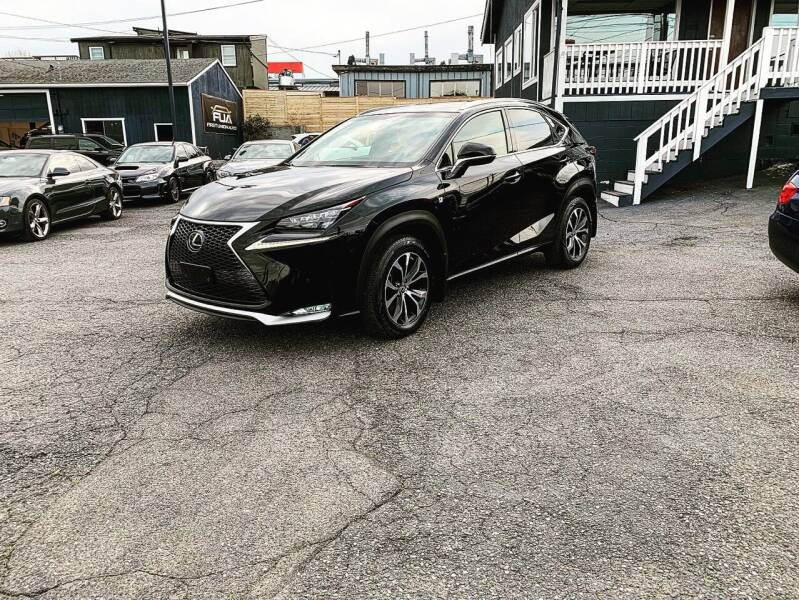 2017 Lexus NX 200t for sale at First Union Auto in Seattle WA