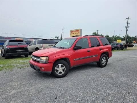 2002 Chevrolet TrailBlazer for sale at TOMI AUTOS, LLC in Panama City FL