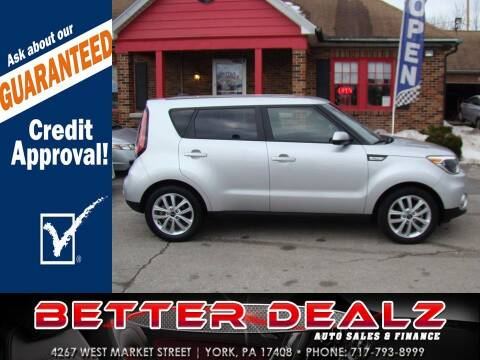2019 Kia Soul for sale at Better Dealz Auto Sales & Finance in York PA