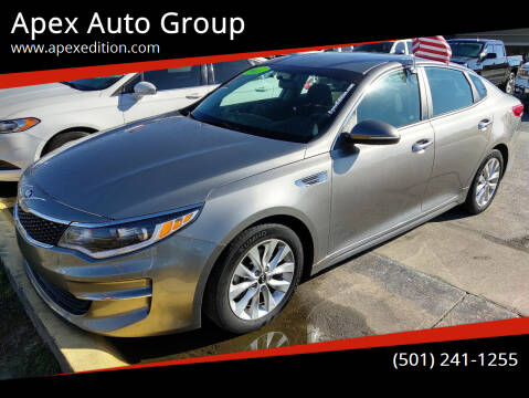 2017 Kia Optima for sale at Apex Auto Group in Cabot AR