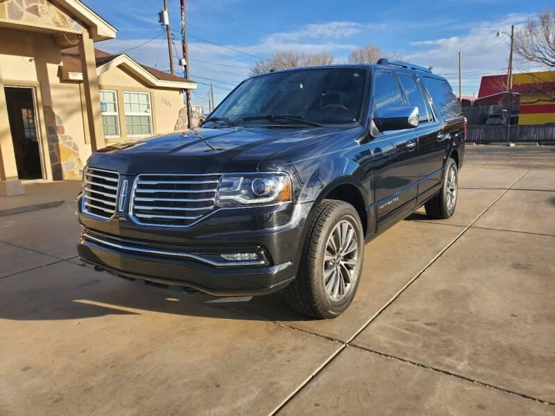 2016 Lincoln Navigator L for sale at Texas Premiere Autos in Amarillo TX
