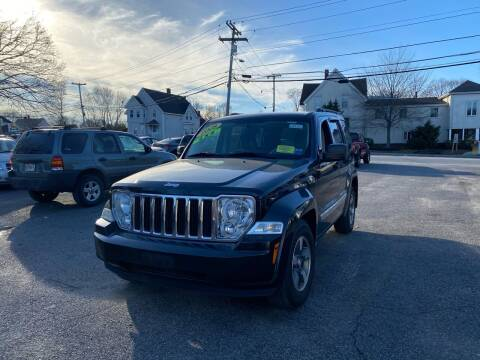 2008 Jeep Liberty for sale at Auto Gallery in Taunton MA