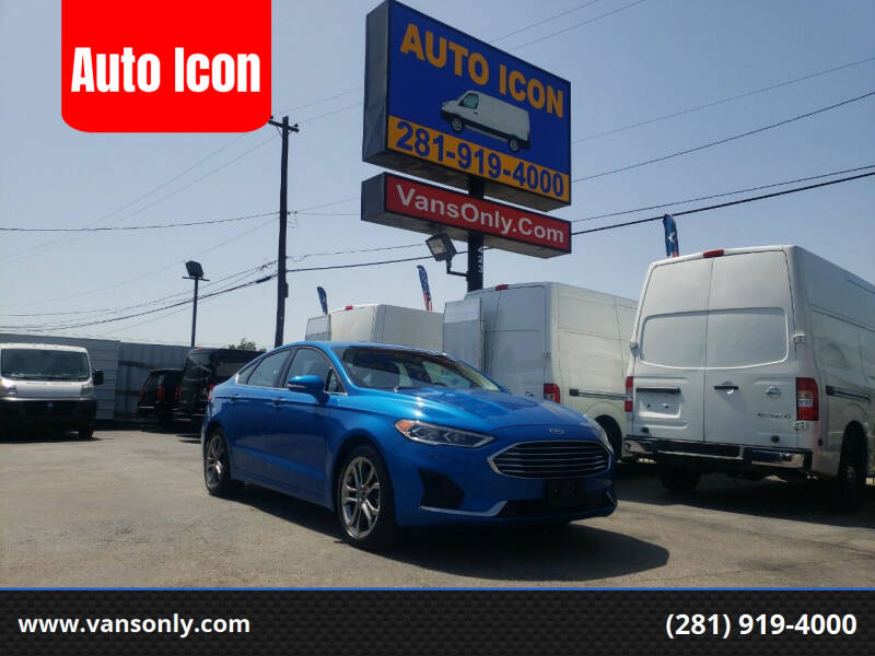 2020 Ford Fusion for sale at Auto Icon in Houston TX