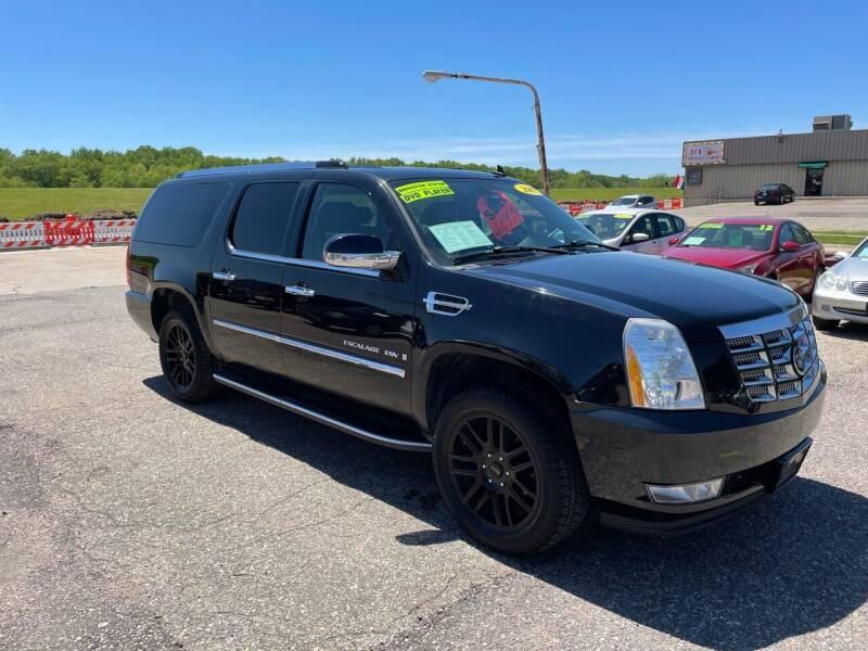 2007 Cadillac Escalade ESV for sale at River Motors in Portage WI