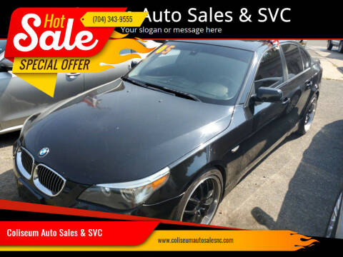 2005 BMW 5 Series for sale at Coliseum Auto Sales & SVC in Charlotte NC