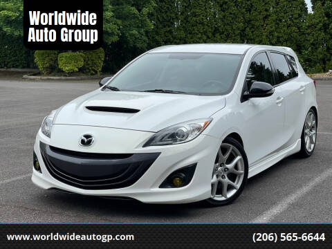 2013 Mazda MAZDASPEED3 for sale at Worldwide Auto Group in Auburn WA