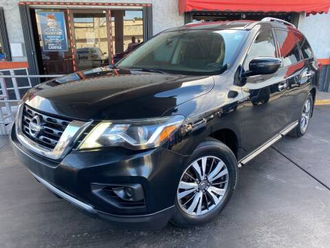 2017 Nissan Pathfinder for sale at MATRIX AUTO SALES INC in Miami FL