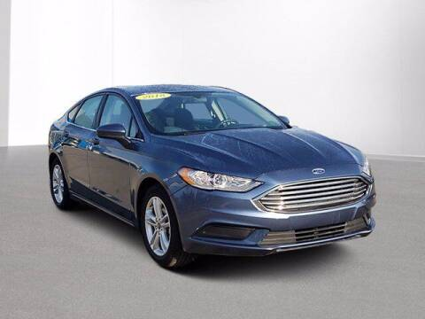 2018 Ford Fusion for sale at Jimmys Car Deals in Livonia MI
