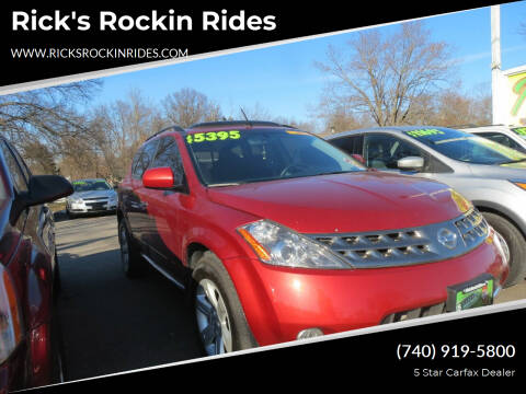 2007 Nissan Murano for sale at Rick's Rockin Rides in Reynoldsburg OH