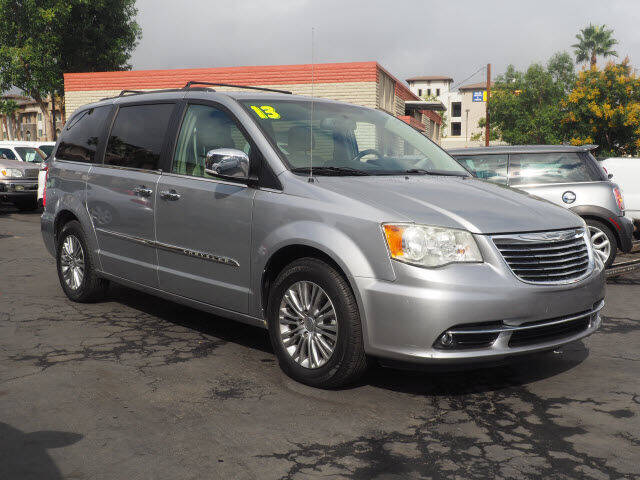 2013 Chrysler Town and Country for sale at Corona Auto Wholesale in Corona CA