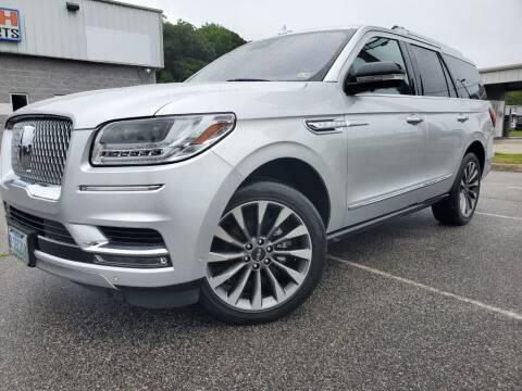 2019 Lincoln Navigator for sale at TM AUTO WHOLESALERS LLC in Chesapeake VA