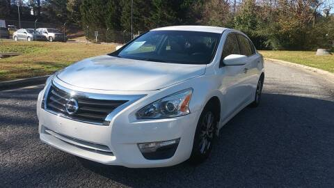 2015 Nissan Altima for sale at Final Auto in Alpharetta GA
