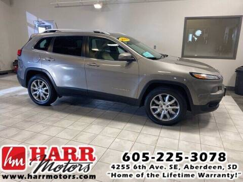 2018 Jeep Cherokee for sale at Harr's Redfield Ford in Redfield SD