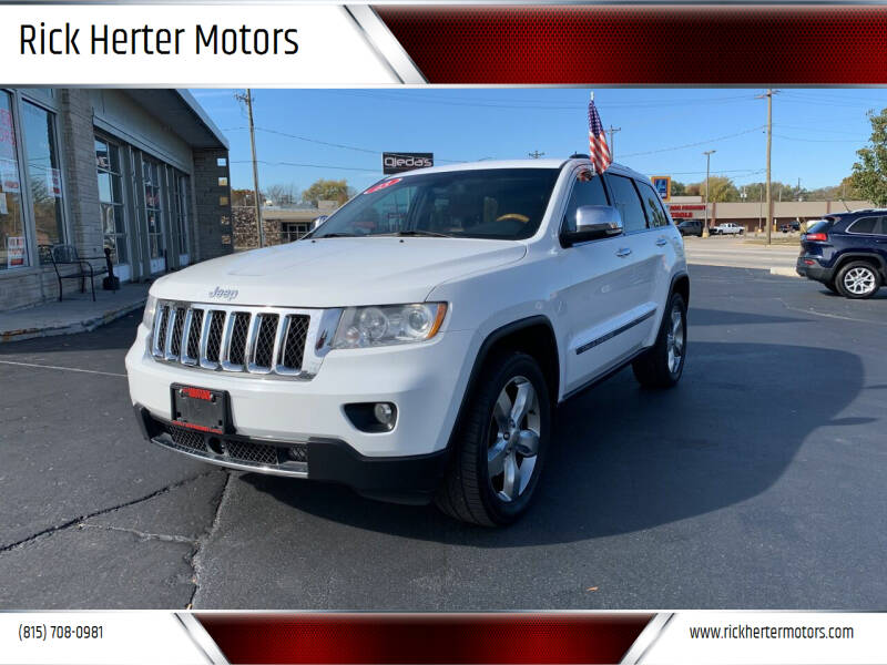 2013 Jeep Grand Cherokee for sale at Rick Herter Motors in Loves Park IL