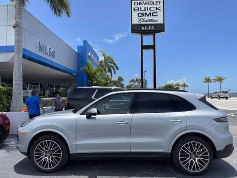 2021 Porsche Cayenne for sale at Niles Sales and Service in Key West FL