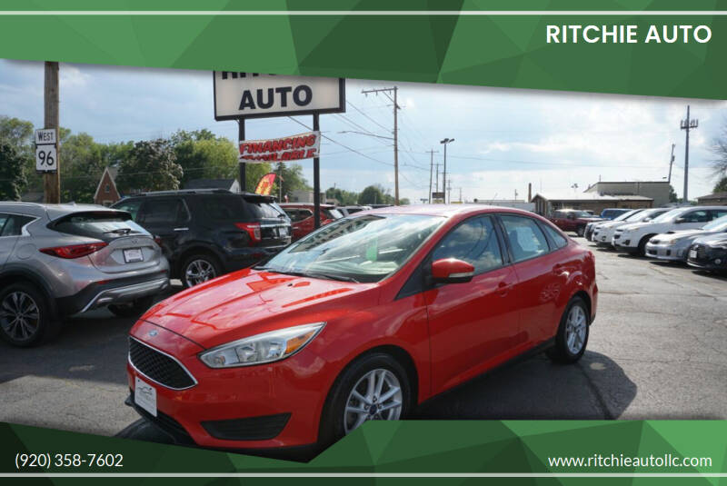 2015 Ford Focus for sale at Ritchie Auto in Appleton WI