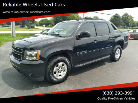 2011 Chevrolet Avalanche for sale at Reliable Wheels Used Cars in West Chicago IL