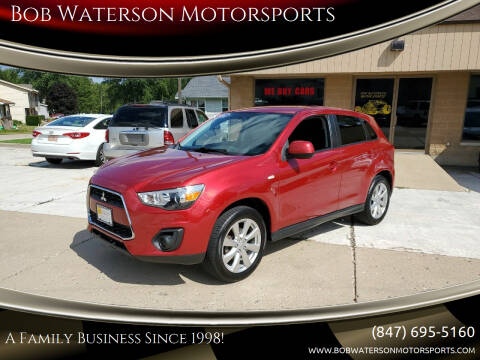 2014 Mitsubishi Outlander Sport for sale at Bob Waterson Motorsports in South Elgin IL