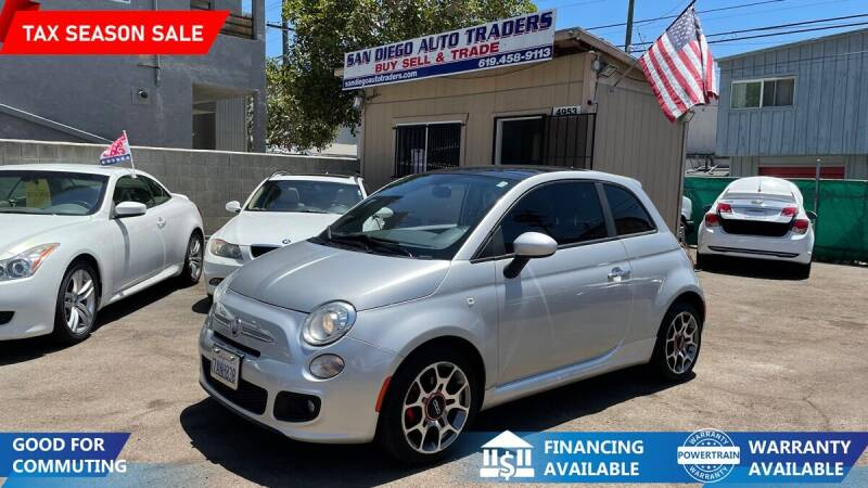 2013 FIAT 500 for sale at San Diego Auto Traders in San Diego CA