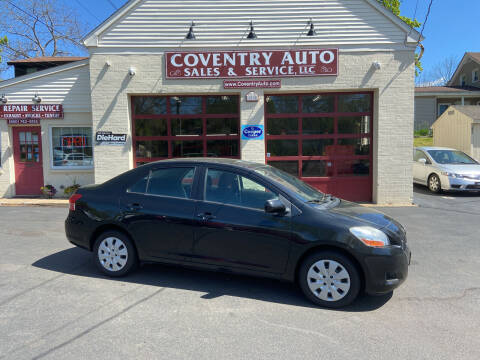 2009 Toyota Yaris for sale at COVENTRY AUTO SALES in Coventry CT