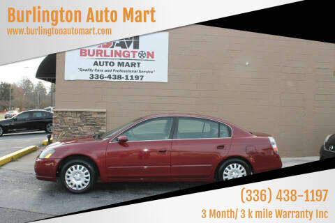 2005 Nissan Altima for sale at Burlington Auto Mart in Burlington NC