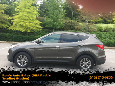 2014 Hyundai Santa Fe Sport for sale at Ron's Auto Sales (DBA Paul's Trading Station) in Mount Juliet TN