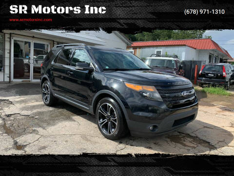 2015 Ford Explorer for sale at SR Motors Inc in Gainesville GA
