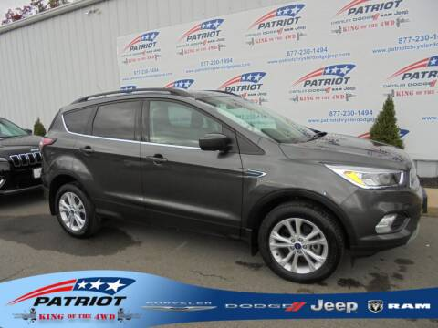 2018 Ford Escape for sale at PATRIOT CHRYSLER DODGE JEEP RAM in Oakland MD
